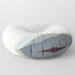 Mountains Storm Floor Pillow