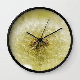 Dandelion fantasy Wall Clock
