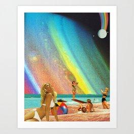 Summer Solstice Art Print