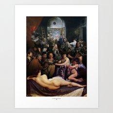 L'invidia Degli Uomini Art Print
