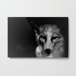 past life regression IV - gnostic fox Metal Print