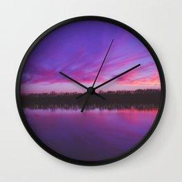 Cadron Sunset Wall Clock