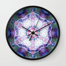 Mandalas from the Depth of Love 7 Wall Clock