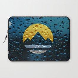Flag of Reno - Raindrops Laptop Sleeve