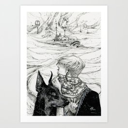 The Passing Storm Art Print