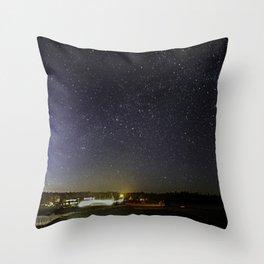 Seawall Stars Throw Pillow