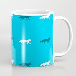 Blue Foxes! Coffee Mug