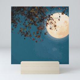 Midnight Moon Mini Art Print
