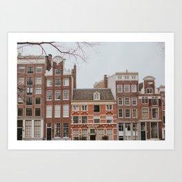 Charming Amsterdam  Art Print