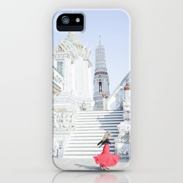Dance at the Temple of Dawn iPhone Case