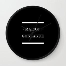 Maison Gonzague Wall Clock