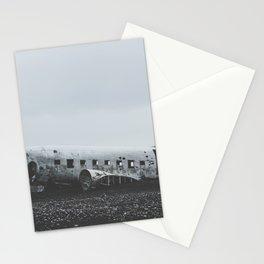 Sólheimasandur Plane Wreck, Iceland Stationery Cards