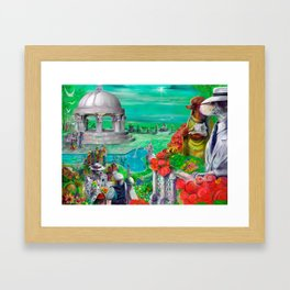 The Great Gastbone Framed Art Print