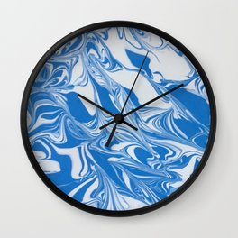 Bleed Tarheel Blue Wall Clock