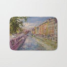 Painting Oil Realism Canvas Art Impressionism Landscape Painting Modern Office Decor Art Collection Bath Mat
