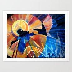 Fleeting Light Art Print