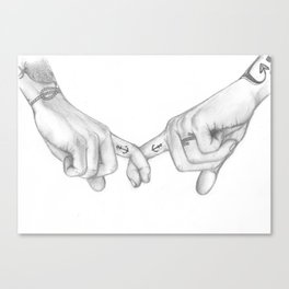 I'll make this feel like home (Harry Styles and Louis Tomlinson) Canvas Print