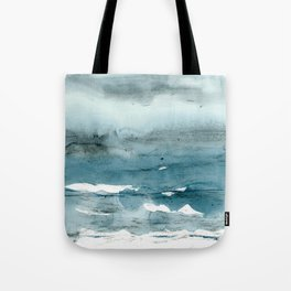 dissolving blues Tote Bag