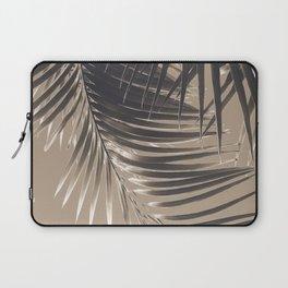 Palm Leaves Sepia Vibes #2 #tropical #decor #art #society6 Laptop Sleeve