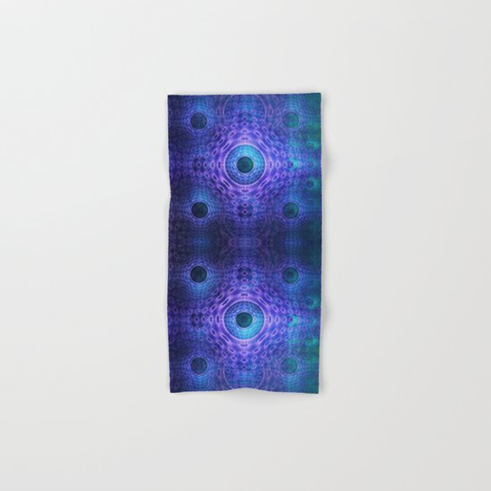 Groovy abstract with Circles and tribal patterns  Hand & Bath Towel