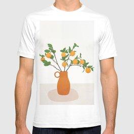 Orange Branches T-shirt