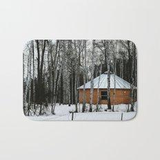 Yurt in the Birch Bath Mat