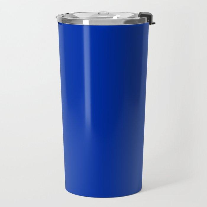 International Blue - solid color Travel Mug