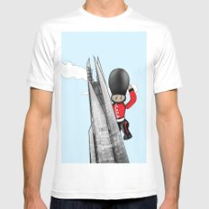 The Shard Mens Fitted Tee White MEDIUM