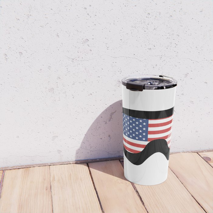 USA Goggles | Goggle Designs | DopeyArt Travel Mug