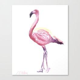 Full Flamingo Canvas Print