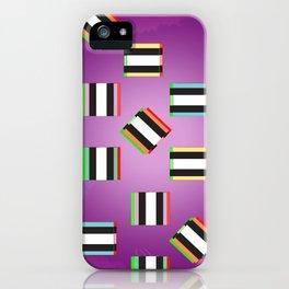 Glitch Allsorts iPhone Case