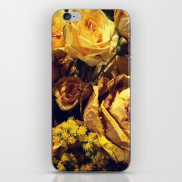 Dead Roses iPhone Skin