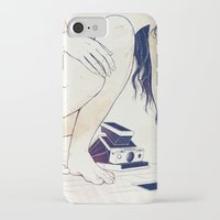 silence of the lambs iPhone & iPod Cases featuring Silence by Anton Marrast