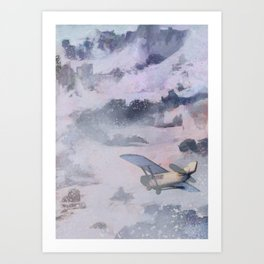At The Mountains of Madness Art Print