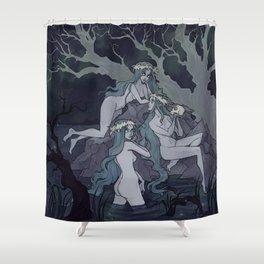 Rusalki Shower Curtain