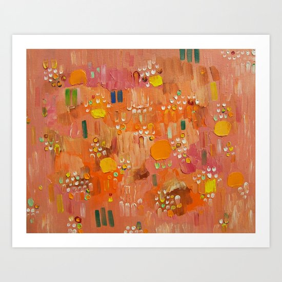 Abstract 85 Art Print