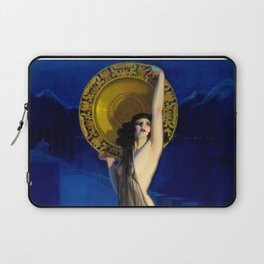 The Enchantress by Rolf Armstrong (c.1927) Laptop Sleeve