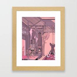 slaughterhouse Framed Art Print