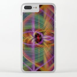 color torquent Clear iPhone Case