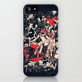 Space Dairy Farming iPhone Case