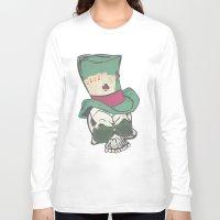 poker Long Sleeve T-shirts featuring Poker Face by Ewan Arnolda