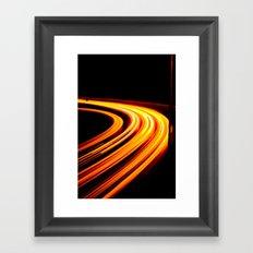 Light Games III Framed Art Print