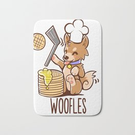 Im Making Woofles Bath Mat