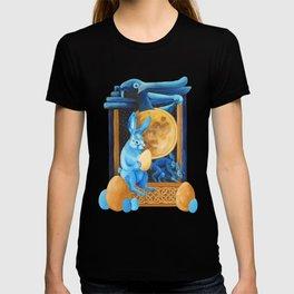 Celtic Lunar Rabbits and Hares - Easter, Ostara T-shirt