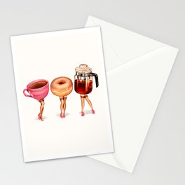 Coffee Pin-Ups Stationery Cards