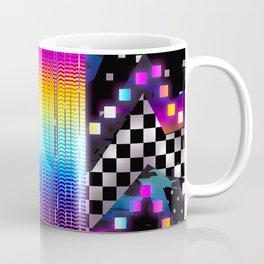 Retro Glowing Poster Coffee Mug