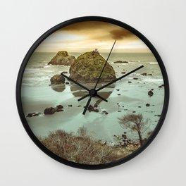 California Ocean West Coast Wall Clock