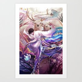 shi Art Print