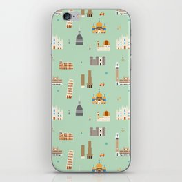 Italy pattern iPhone Skin