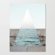 Navigating to the truth Canvas Print